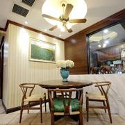 迷人的东南亚风格餐厅设计装修效果图