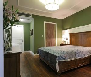 92平米家居美式风格主卧室装修效果图