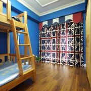 104平米家居自然风情儿童房设计效果图