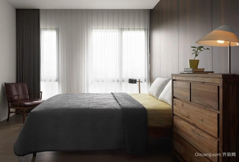 现代乡村风大户型卧室装修效果图