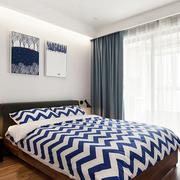 两室一厅朴素小卧室装修效果图
