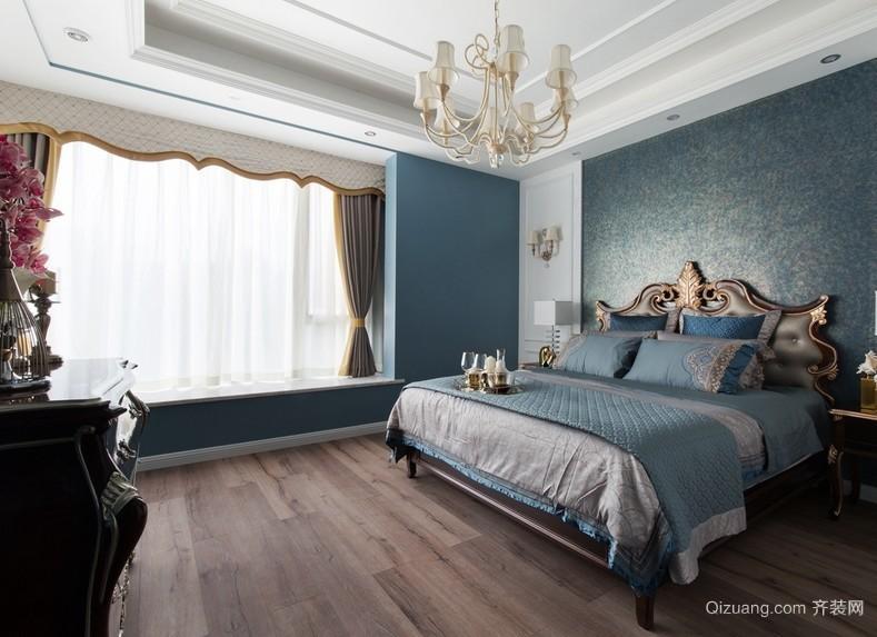 2016古典欧式风格别墅大卧室装修效果图