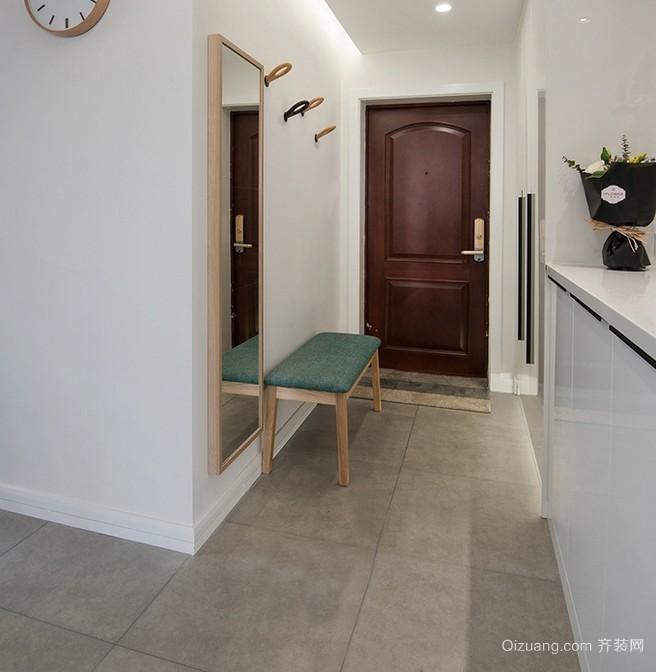 宜家风格三居室玄关设计装修效果图