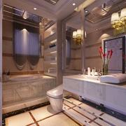 别墅欧式风格卫生间室内装修效果图