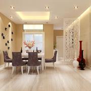 欧式风格小户型装修餐厅装修效果图实例