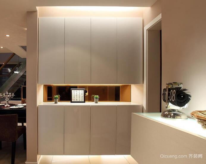 2016大户型欧式风格室内鞋柜装修效果图