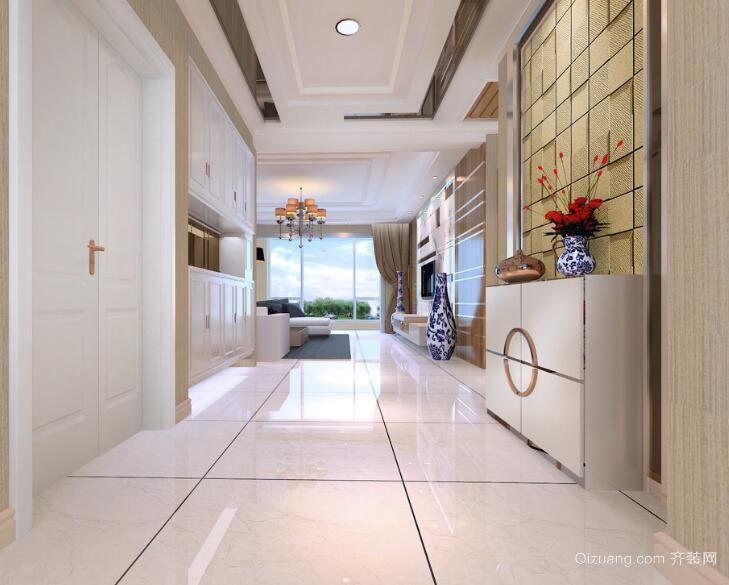 别墅型欧式风格室内玄关装修效果图鉴赏
