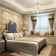 2016大户型欧式风格卧室装修效果图鉴赏