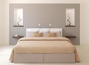 100平米大户型现代简约卧室装修效果图