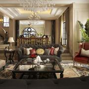 小户型欧式风格房子室内装修效果图实例