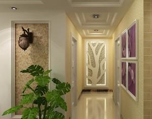 欧式风格别墅走廊吊顶装修效果图鉴赏
