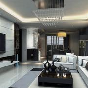 大户型后现代风格客厅装修效果图鉴赏