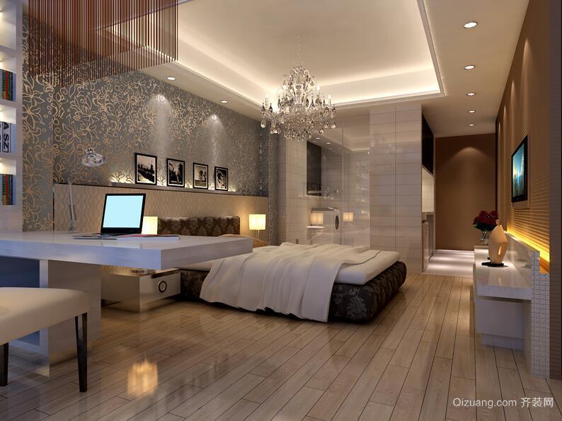 欧式风格100平米房屋客厅装修效果图