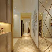 大户型精美的欧式客厅玄关装修效果图
