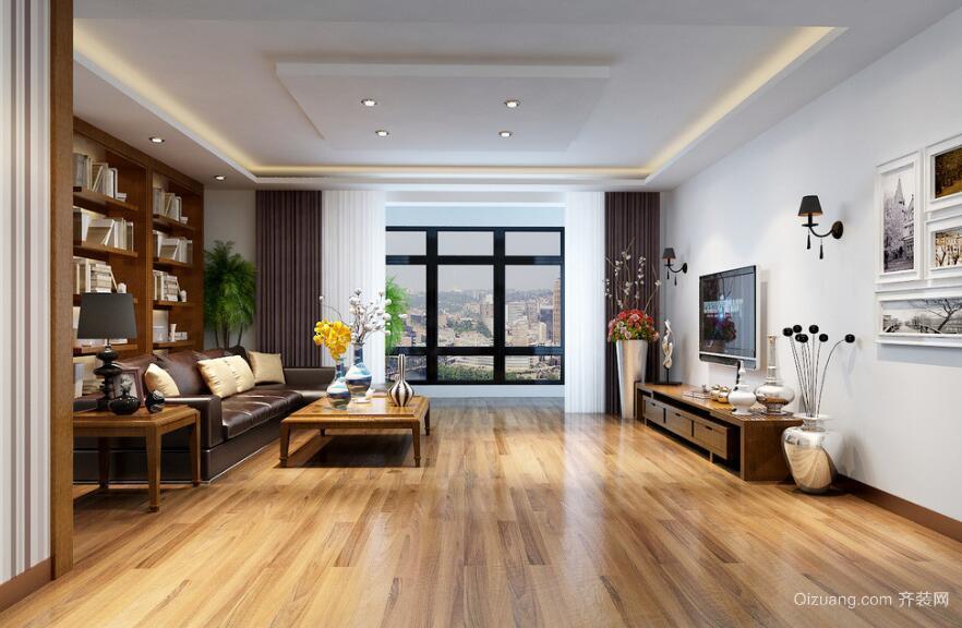 2016别墅型精致的欧式风格客厅装修效果图