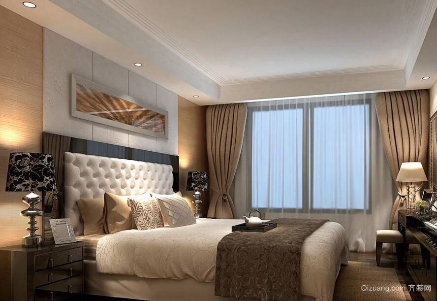 经典大户型欧式风格卧室装修效果图鉴赏