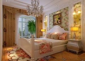 大户型欧式风格室内窗帘装修效果图鉴赏