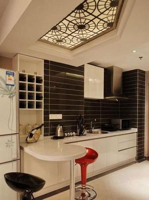 120平米欧式风格室内吧台装修效果图鉴赏