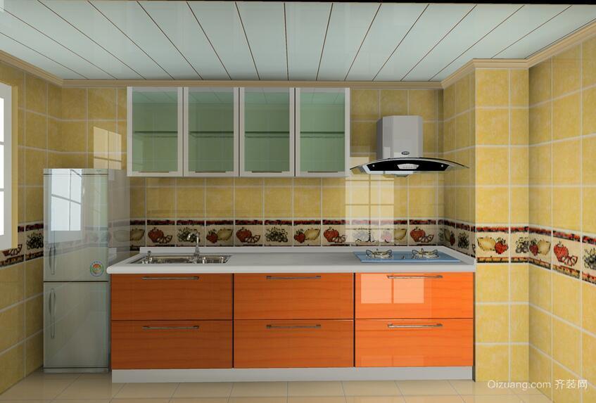 现代欧式小户型厨房装修效果图实例
