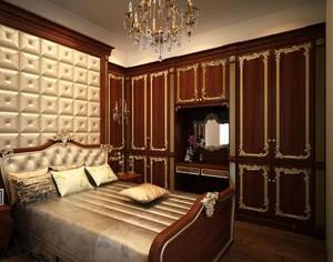 大户型尊贵的欧式风格整体衣柜装修效果图