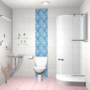 欧式风格大户型卫生间装修效果图鉴赏