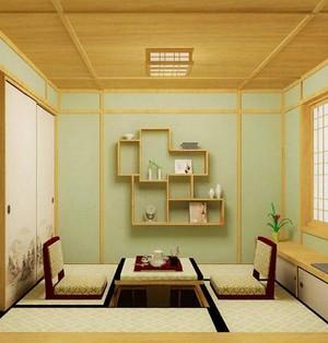 日式风格大户型榻榻米装修效果图实例