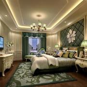 70平米欧式风格小户型卧室装修效果图实例
