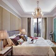 别墅型欧式风格卧室吊顶装修效果图实例