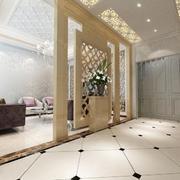 90平米大户型欧式风格室内玄关装修效果图