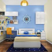 大户型欧式精致儿童房背景墙装修效果图