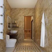 别墅型欧式风格卫生间装修效果图鉴赏