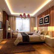 欧式风格大户型房屋卧室装修设计效果图
