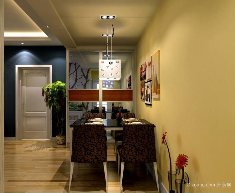 欧式小户型餐厅背景墙装修效果图鉴赏