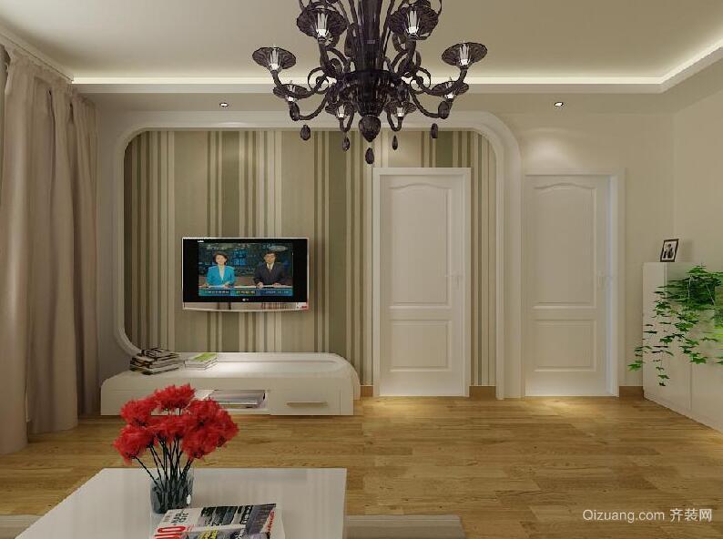 欧式风格小户型家装客厅装修效果图