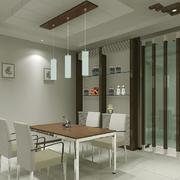 欧式风格小户型餐厅吊顶装修效果图实例
