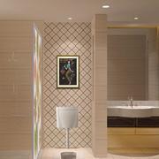 欧式风格小户型卫生间隔断装修效果图