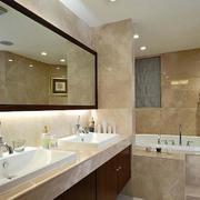 欧式风格别墅型浴室装修效果图实例