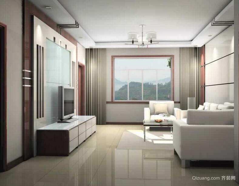 2016欧式风格客厅室内装修效果图实例