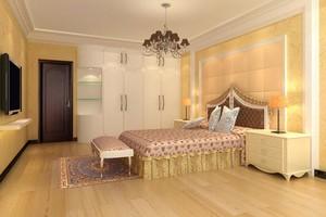 70平米小户型欧式风格卧室装修效果图实例