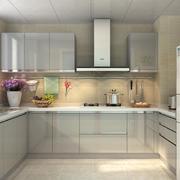 别墅型简欧风格橱柜装修效果图实例