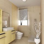 大户型欧式风格卫生间装修效果图实例