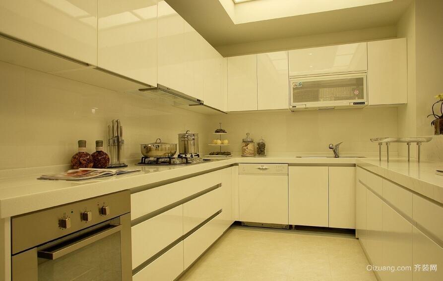 大户型欧式风格厨房橱柜装修效果图实例