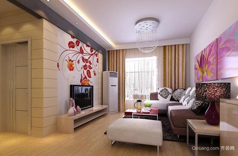 别墅型欧式风格客厅室内装修效果图鉴赏