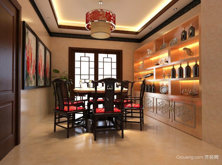 小户型中式风格餐厅装修效果图实例