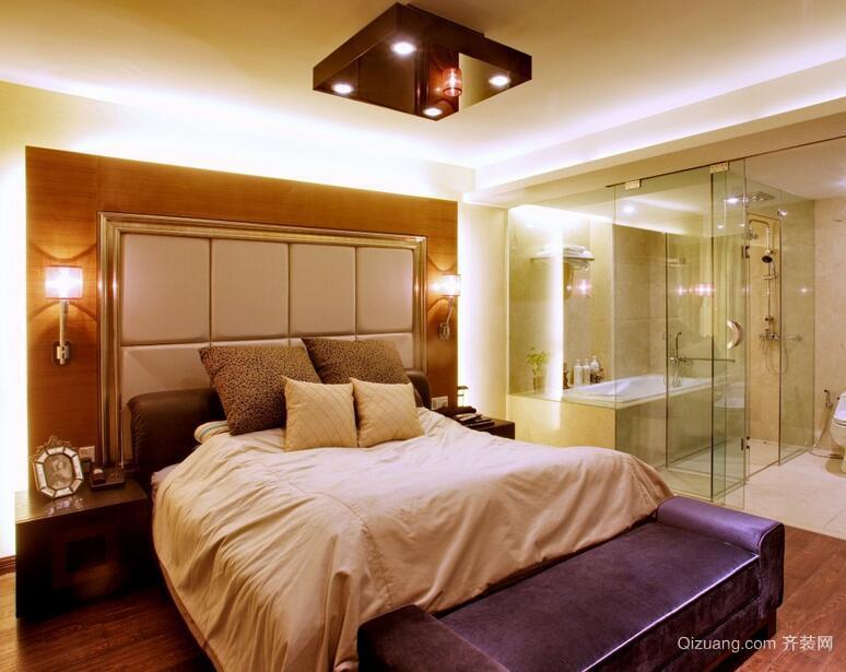 别墅型欧式风格卧室吊顶装修效果图