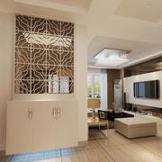 大户型现代欧式风格室内鞋柜装修效果图