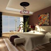 别墅型欧式风格卧室装修效果图实例