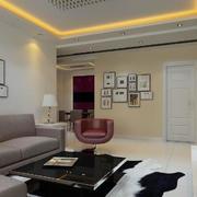 120平米欧式风格客厅装修效果图鉴赏