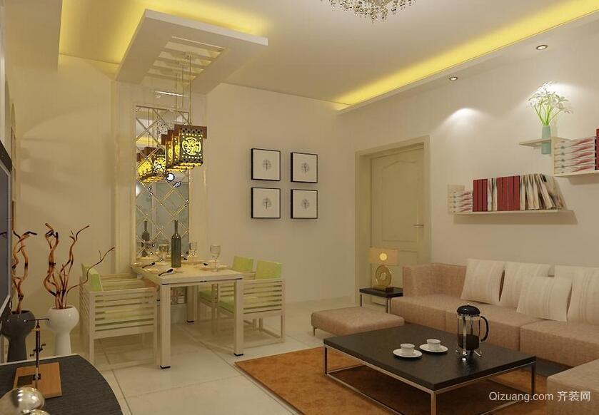 欧式风格小户型客厅装修设计效果图鉴赏