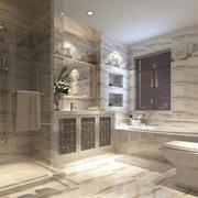 欧式风格大户型卫生间装修效果图实例